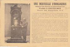 CHATELDON une merveille d'horlogerie de Jean RIVET-DECOMBE