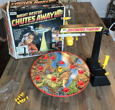Vintage 1970's Gabriel Chutes Away Night Rescue Target Game Original Box NICE !!