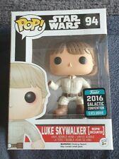Funko Pop Vinilo Star Wars #94 Luke Skywalker: Bespin encuentro 2016 GC Exclusivo