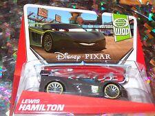 "DISNEY PIXAR CARS ""LEWIS HAMILTON"" Scale1:55, Die-Cast Metal, BRAND NEW, Mattel"