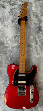 Fender Deluxe Nashville Telecaster Relic'd Candy Apple Red