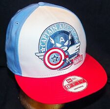 Tokidoki Marvel Comics Captain America New Era 9FIFTY Disney Store Baseball Hat