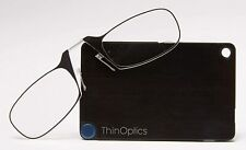 Thinoptics - Ultra Thin Reading Glasses Credit Card case 1.0,1.5,2.0,2.5 Optics
