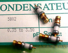 1 x at5802 temex-tekelec Air trimmer 0.35pf - 3.5pf 250v = Johanson 5802 (m1612)
