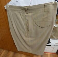 JAMAICA JAXX 100% SILK SHORTS - SIZE 42 - TAN - PRE-WORN ONCE