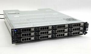 Dell PowerVault MD1200 12-Bay Storage Array w/12*1TB SAS + 2*MD12 SAS Controller