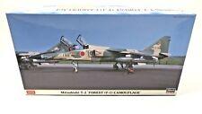 Hasegawa Mitsubishi T-2 Forest (F-1) Camouflage 1/48 Scale Kit AKS 07374