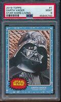 2019 Topps Star Wars Living Set #1 Darth Vader PSA 9 Mint SP Card