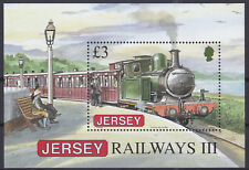 Jersey 2009 Jersey Railways History (3rd) Set MS SGMS1439 Cat £9.25