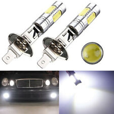 2pcs H1 7.5W High Power COB Car White LED Fog Light Head Lamp Bulb 6000K DC 12V