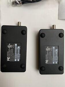 Actiontec MoCA 2.5 Adapter - Black, Pack of 2