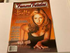 Femme Fatales Magazine Aug 20,1999 Buffy Vampire Slayer - Sarah Michelle Gellar!
