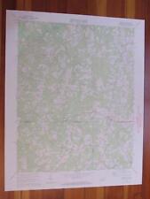 Virgilina Virginia 1972 Original Vintage Usgs Topo Map