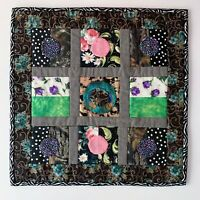 Handmade Quilt Wall Hanging Handmade Signed Dated Wanda E Tamasy Art #291