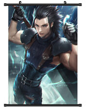 4538 Anime Final Fantasy VII Zack Fair Decor Poster Wall Scroll cosplay