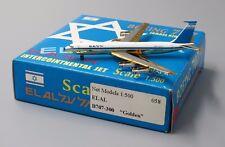 El Al B707-300 Special : GOLDEN  Netmodels Diecast models Scale 1:500        058