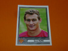N°369 HUME PERPIGNAN USAP PANINI RUGBY 2007-2008 TOP 14 FRANCE