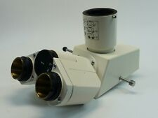 Zeiss Axioskop Microscope Trinocular Head, PN 452910; Great Condition