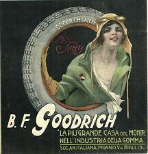P.Codognato-pneumatici GOODRICH-Miss Safety-DONNA-industria della gomma Milano