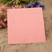DIY Printed Scrapbooking Plastic Embossing Template Folder Stencil for Card
