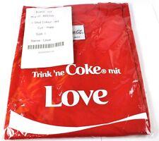 COCA-COLA COKE Amor Camiseta roja tamaño L Nombre de Pila con