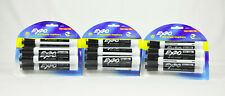 Expo Black Low Odor Dry Erase Markers 6 Count 3 Packs 18 Total