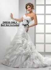MAGGIE SOTTERO MIDGELY $1599 NEW 10 LT IVORY WEDDING DRESS BALL GOWN > NO BELT<