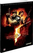 Resident Evil 5: The Complete Official Guide, Acceptable, Piggyback, Book
