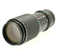80-200mm (160-400) Telephoto Zoom Lens for SONY NEX & ALPHA E mirrorless cameras