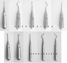 Kit of 10 Assorted Gouge Root Tip Picks Cryer Elevators