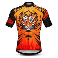 Mens Cycling Jerseys Women Short Sleeve Outdoor Sports Riding Road Race Wear