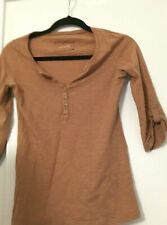 Tee Shirt Femme Manches Longues Camel Pimkie Taille S 36