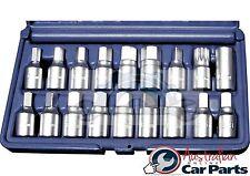 Master Drain Plug Key 18Pce Set T&E Tools 5704 Engine Sump Transmission NEWPRICE