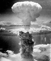 "Atomic Bombing of Nagasaki on August 9, 1945 8""x 10"" World War II WW2 Photo #100"