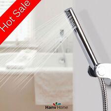 Brass G1/2  Handheld Shower Head + 1.5m Stainless Steel Hose and Bracket Holder