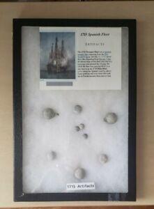 1715, Treasure Fleet, Shipwreck Artifacts,Found by Lou Ullian, REAL EIGHT MEMBER