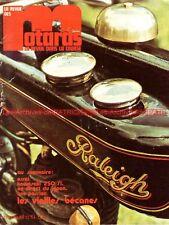Revue Des MOTARDS 19 KAWASAKI 250 S1 500 H1 SUZUKI GT 550 MOTOBECANE X1 EGLI