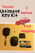 replacement for Toyota. blank key KIT. Corolla , Land cruiser, Celica ,Yaris