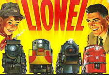 1954 LIONEL TRAINS POCKET CONSUMER CATALOG MINT  NR
