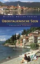 OBERITALIENISCHE SEEN Michael Müller Reiseführer 11 Gardasee Comer See Luganer