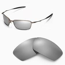 New Walleva Polarized Titanium Lenses For Oakley Square Whisker