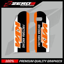 KTM SX SXF 2000-2007 EXC 1998-2007 LOWER FORK MOTOCROSS GRAPHICS MX GRAPHICS FR