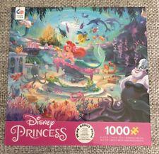 Ceaco Disney Princess Ariel The Little Mermaid 1000 Piece Jigsaw Puzzle Sealed