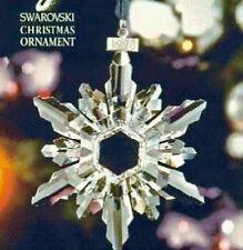 SWAROVSKI ~1998 Annual LARGE Star /Snowflake ORNAMENT Includes Coa Brand New