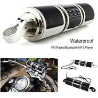 Motorcycle Bluetooth Audio Sound System MP3 FM Radio Stereo Speakers Waterpr be
