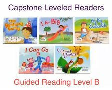 CAPSTONE Grade K * Guided Reading Level B * Leveled Readers Book Lot Homeschool