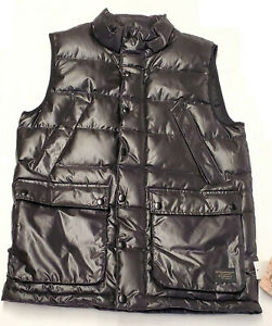 BURTON SNOW Men's HERITAGE UNIVERSE DOWN Vest True Black - Medium LAST ONE LEFT