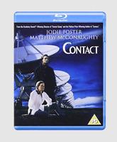 Contact Blu-ray [Region Free] Jodie Foster Matthew McConaughey Sci-fi Movie NEW