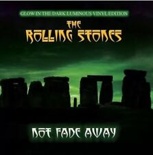 """ROLLING STONES """"NOT FADE AWAY"""" LP sur Glow In The Dark Vinyl-NEUF et scellé"""