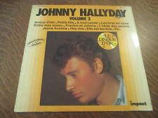 33 tours disque d'or johnny hallyday volume 2 amour d'ete
